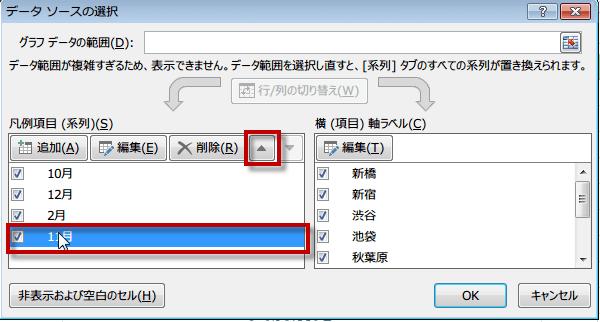 データソースの選択ダイアログボックス2