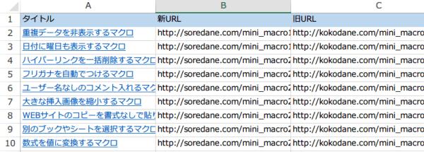 ハイパーリンクのアドレスの一部を変更するマクロ5