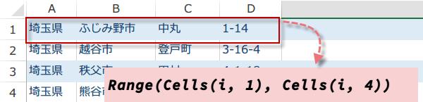 横並びの文字列を結合するマクロ5