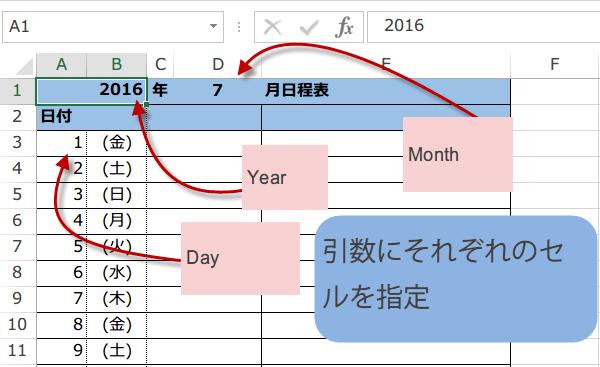 文字列から日付を作成マクロ2