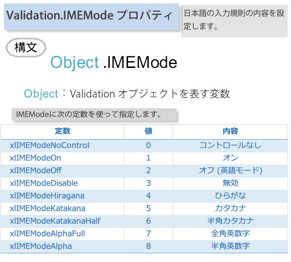 IMEの入力モードを設定するマクロ2