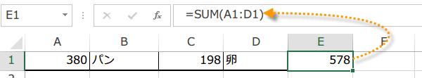 異なる値をセル範囲に入力マクロ